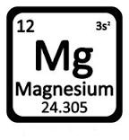 magnesium symbole